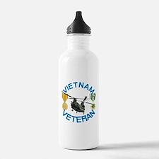 Chinook Vietnam Veteran Water Bottle