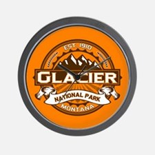 Glacier Pumpkin Wall Clock