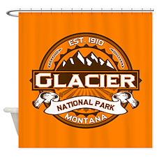 Glacier Pumpkin Shower Curtain