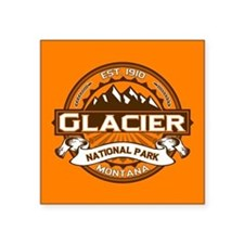 "Glacier Pumpkin Square Sticker 3"" x 3"""