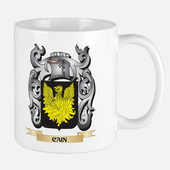 Cain- Family Crest - Cain- Coat of Arms Mugs