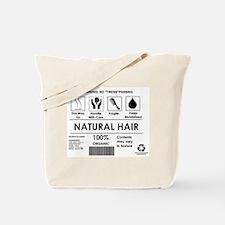 Natural Hair Organic Tote Bag
