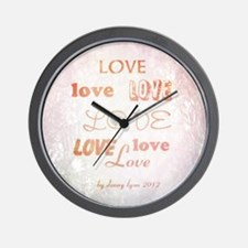 Love Light Wall Clock