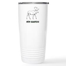 Hampsha moose Travel Mug
