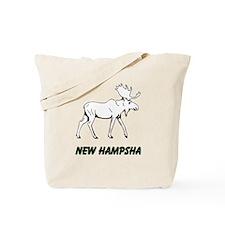 Hampsha moose Tote Bag