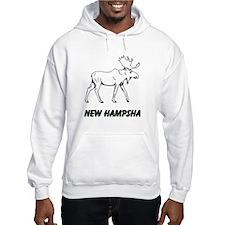 Hampsha moose Hoodie