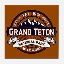 Grand Teton Vibrant Tile Coaster