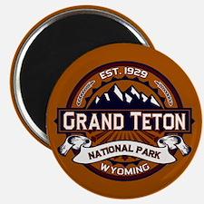 Grand Teton Vibrant Magnet