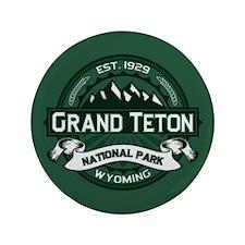"Grand Teton Forest 3.5"" Button"