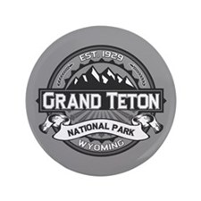 "Grand Teton Ansel Adams 3.5"" Button"