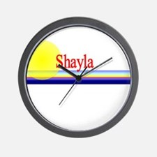 Shayla Wall Clock