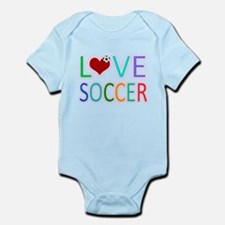 LOVE Soccer Infant Bodysuit