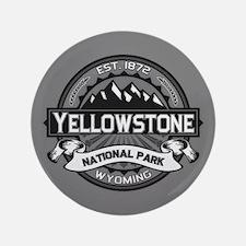 "Yellowstone Ansel Adams 3.5"" Button"