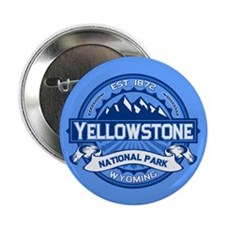 """Yellowstone Blue 2.25"""" Button (100 pack)"""