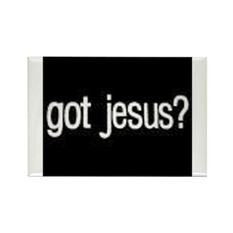 Got Jesus? Rectangle Magnet