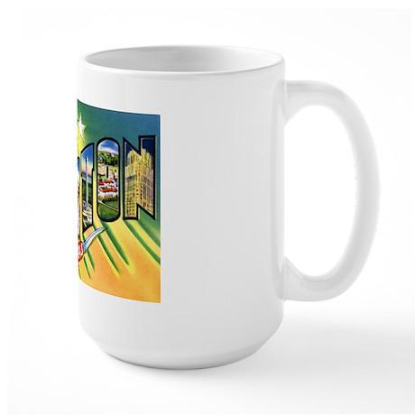 Houston Texas Greetings Large Mug