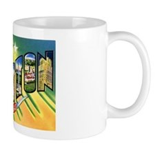 Houston Texas Greetings Mug