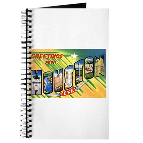 Houston Texas Greetings Journal