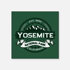 "Yosemite Forest Square Sticker 3"" x 3"""