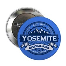 "Yosemite Blue 2.25"" Button"