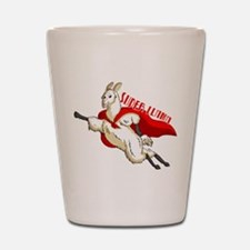 SUPER-LLAMA.png Shot Glass