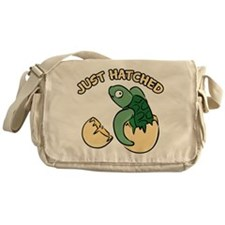 Just Hatched Turtle Messenger Bag