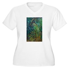Blue and Green Peacock T-Shirt