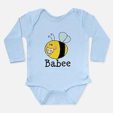 Babee Bee Long Sleeve Infant Bodysuit