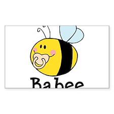 Babee Bee Decal