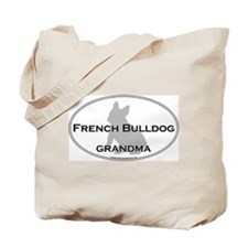 French Bulldog GRANDMA Tote Bag