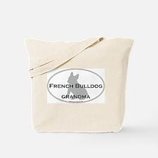 French Bulldog GRANDMA Tote Bag