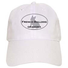 French Bulldog GRANDMA Baseball Cap