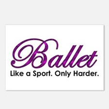 Ballet, Like a sport Postcards (Package of 8)