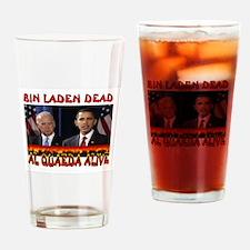 AL QUAEDA WINNING Drinking Glass