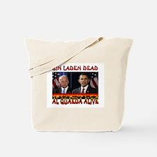 AL QUAEDA WINNING Tote Bag