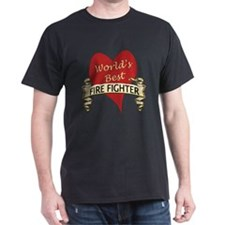 Funny Greatest fire fighter T-Shirt