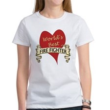 Funny World's greatest fire fighter Tee