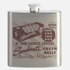 Cute Spudnuts Flask