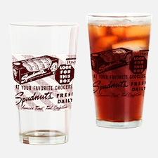 Cute Spudnuts Drinking Glass