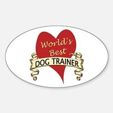 Cute Dog trainer Decal