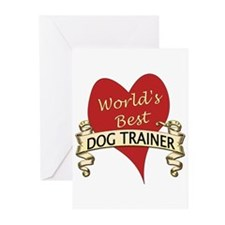 Unique Animal trainer Greeting Cards (Pk of 10)