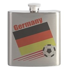 German Soccer Team Flask