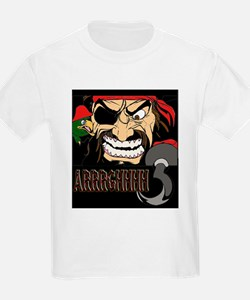 Pirate Says AARRGG Kids T-Shirt