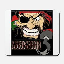 Pirate Says AARRGG Mousepad