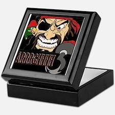 Pirate Says AARRGG Keepsake Box