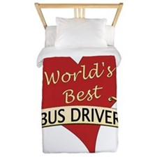Funny Bus driver Twin Duvet