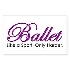 Ballet, Like a sport Decal