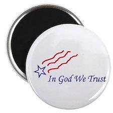 "In God star 2.25"" Magnet (10 pack)"