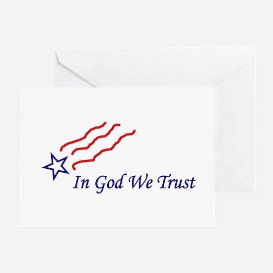 In God star Greeting Card