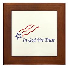 In God star Framed Tile